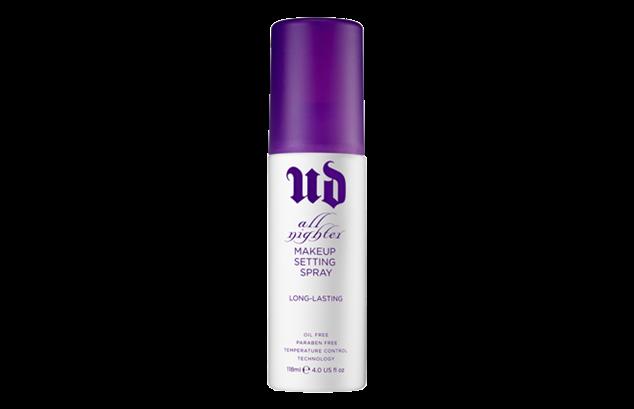 Setting spray til holdbar makeup